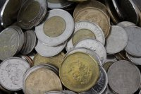 rozsypane monety